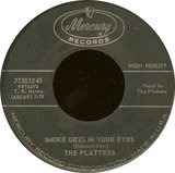 Smoke Gets In Your Eyes / No Matter What You Are - The Platters