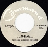 Al-Di-La / Till The End Of Time - The Ray Charles Singers