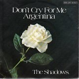 Don't Cry For Me Argentina - The Shadows