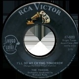 I'll Do My Crying Tomorrow / Dream Angel Goodnight - The Tokens