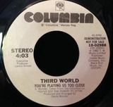 You're Playing Us Too Close - Third World