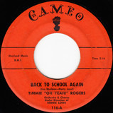Back To School Again / I've Got A Dog Who Loves Me - Timmie Rogers