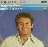 Summer Wine / I'm Coming Home - Tony Christie