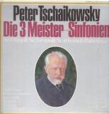 Die 3 Meister-Sinfonien / Nr.4 f-moll, Nr.5 e-moll, Nr.6 h-moll - Tschaikowsky / Staatl. Sinfo-Orch UdSSR, Swetlanow