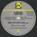 Sing Our Own Song - Ub40