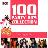 100 Party Hits Collection - The Original Hits - Bee Gees, Tony Esposito, Evelyn Thomas, a.o.