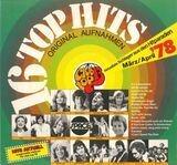 16 Top Hits - Aktuellste Schlager Aus Den Hitparaden März/April '78 - Baccara, Pussycat, John Paul Young, Udo Jürgens...