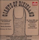 Giants of Dixieland - Chris Barber, Terry Lightfoot, Monty Sunshine,..