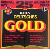 K-Tel's Deutsches Gold - 25 Original Hits - Peter Alexander, Roy Black, Freddy Quinn