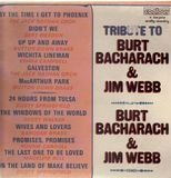 Tribute To Burt Bacharach & Jim Webb - Various