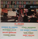 Great Personalities Of Broadway - Al Jolson / Fanny Brice a.o.