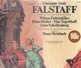 FALSTAFF - Verdi/ H. Weisbach, W. Fichtmüller, H. Hotter, E. Tegetthoff a.o.