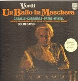 UN BALLO IN MASCHERA - Verdi/C. Davis, Caballé, Carreras, Payne, Wixell