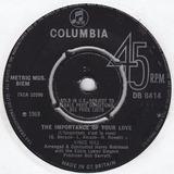 The Importance Of Your Love (L'important, C'est La Rose) - Vince Hill