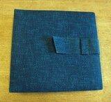 in blau, für 12 LPs - Vintage Schallplattenalbum