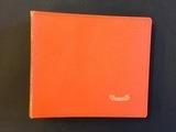 in orange, für 20 Singles - Vintage Schallplattenalbum