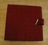 in rot, für 12 LPs - Vintage Schallplattenalbum