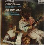 Konzerte für 1,2 und 4 Gitarren; Los Romeros, San Antonio Symph Orch, V. Alessandro - Vivaldi