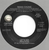 Let's Go / Hypnotize Me - Wang Chung