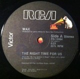 The Right Time For Us / Can't Hide From Love - Wax