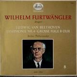 Symphonie Nr. 4 . Große Fuge B-Dur - Beethoven - Furtwängler