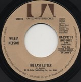 The Last Letter / There Goes A Man - Willie Nelson