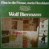 Eins In Die Fresse, Mein Herzblatt - Wolf Biermann