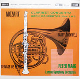 Clarinet Concerto -180gr. - Mozart / Gewarse De Peyer / Barry Tuckwell / Peter Maag a. o.