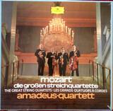 Die Großen Streichquartette - Wolfgang Amadeus Mozart , Amadeus-Quartett