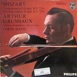 Violinkonzert G-dur KV 216; Violinkonzert A-dur KV 219 - Mozart/ Arthur Grumiaux, Sir Colin Davis ,The London Symphony Orchestra