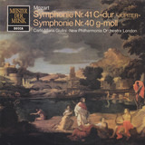 Symphonie Nr. 41 C-Dur  »Jupiter« / Symphonie Nr. 40 G-Moll - Mozart (Giulini)