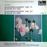 Klavierkonzert Nr.17 G-Dur KV 453 & Klavierkonzert Nr.27 G-Dur KV 595 - Wolfgang Amadeus Mozart , Hans Henkemans
