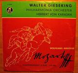 Klavierkonzert  Nr. 23 In A-Dur KV 488 / Klavierkonzert  Nr. 23 In A-Moll KV 488 - Mozart - W. Gieseking , H. von Karajan w/ Philharmonia Orchestra