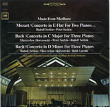 Music From Marlboro (Concerto In E-Flat For Two Pianos (K. 365) / Concerto In C Major For Three Pia - Mozart / Bach