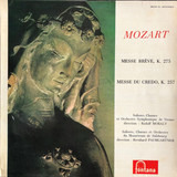 Messe Brève, K. 275 / Messe Du Credo, K. 257 - Mozart