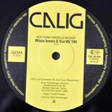Missa Brevis B-Dur KV 275 & D-Dur KV 194 - Mozart