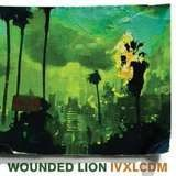 wounded lion
