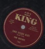 Three O'Clock Blues / Strange Town - York Brothers