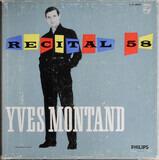 Recital 1958 - Yves Montand