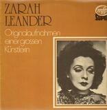 Originalaufnahmen Einer Großen Künstlerin - Zarah Leander
