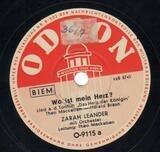 Wo ist dein Herz? / Schlummerlied - Zarah Leander