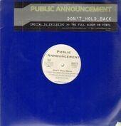 Public Announcement