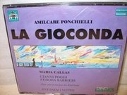 CD - Amilcare Ponchielli - La Gioconda (Callas, Amadini, Poggi)