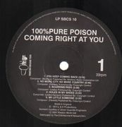 LP - 100% Pure Poison - Coming Right At You