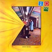 LP - 10cc - Sheet Music - blue labels, silver lettering