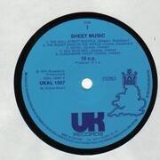 LP - 10cc - Sheet Music - UK ORIGINAL