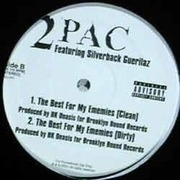 12'' - 2Pac Featuring Silverback Guerillaz - The Best For My Ememies