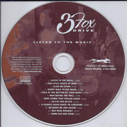 CD - 3 Fox Drive - Listen To The Music