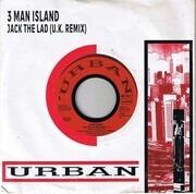 7inch Vinyl Single - 3 Man Island - Jack The Lad