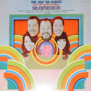 LP - 5th Dimension, The Fifth Dimension - The July 5th Album - More Hits By The Fabulous